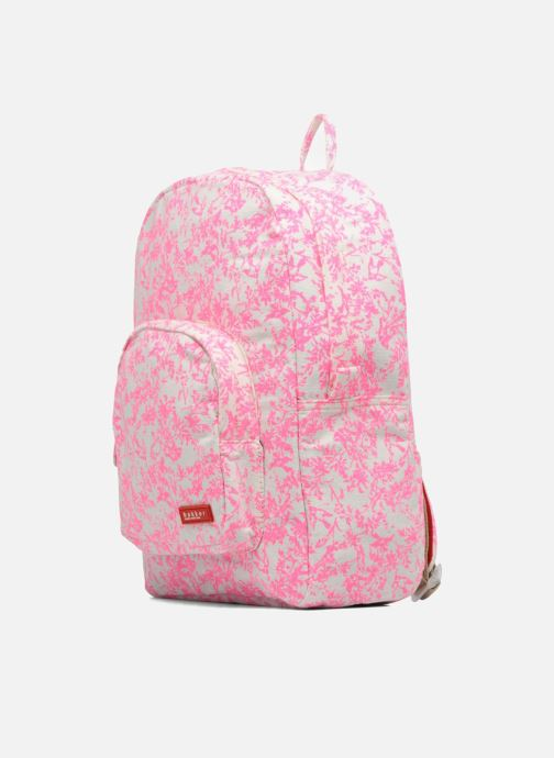 Schulzubehör Bakker Made With Love BACKPACK GRAND CANVAS rosa schuhe getragen