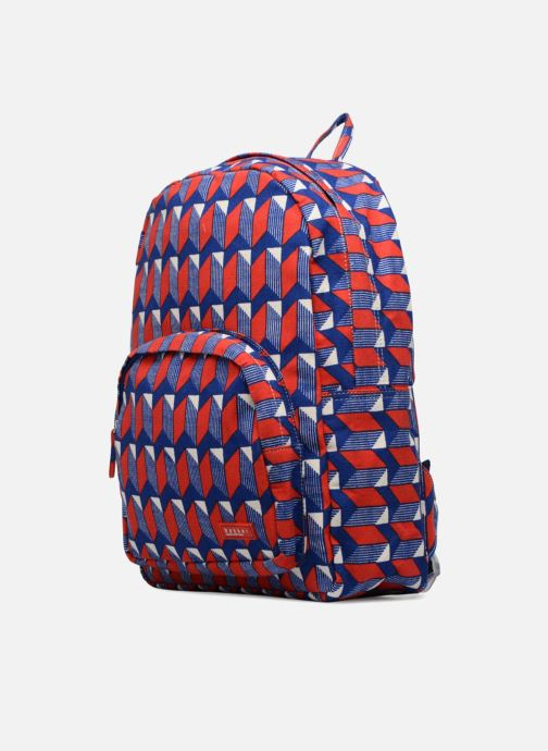 Scolaire Bakker Made With Love BACKPACK GRAND CANVAS Rouge vue portées chaussures