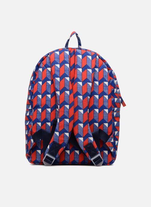 School bags Bakker Made With Love BACKPACK GRAND CANVAS Red front view