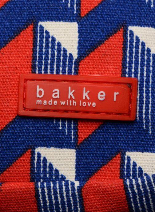 Bandoleras y Colegio Bakker Made With Love BACKPACK GRAND CANVAS Rojo vista lateral izquierda