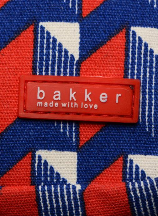 Scolaire Bakker Made With Love BACKPACK GRAND CANVAS Rouge vue gauche