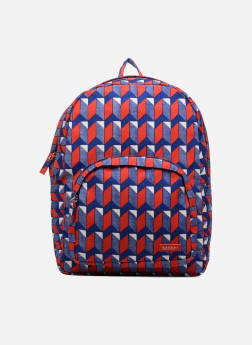 Schooltassen Bakker Made With Love BACKPACK GRAND CANVAS Rood detail