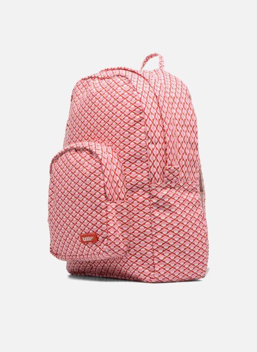 Schulzubehör Bakker Made With Love BACKPACK GRAND rosa schuhe getragen