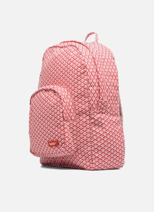 Bandoleras y Colegio Bakker Made With Love BACKPACK GRAND Rosa vista del modelo