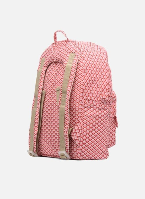 Bandoleras y Colegio Bakker Made With Love BACKPACK GRAND Rosa vista lateral derecha