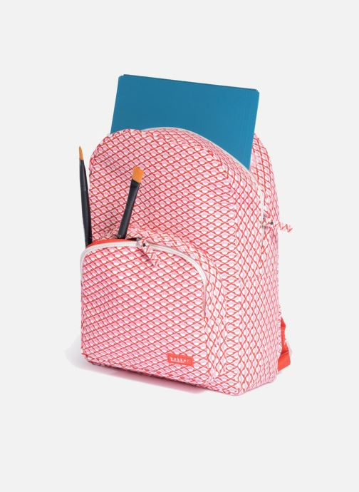 Schooltassen Bakker Made With Love BACKPACK GRAND Roze achterkant