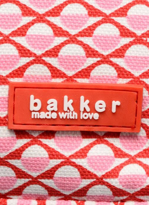 Bandoleras y Colegio Bakker Made With Love BACKPACK GRAND Rosa vista lateral izquierda