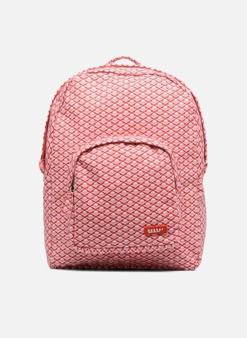 Bandoleras y Colegio Bakker Made With Love BACKPACK GRAND Rosa vista de detalle / par