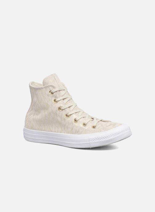 Sneakers Converse Chuck Taylor All Star Shimmer Suede Hi Beige vedi dettaglio/paio