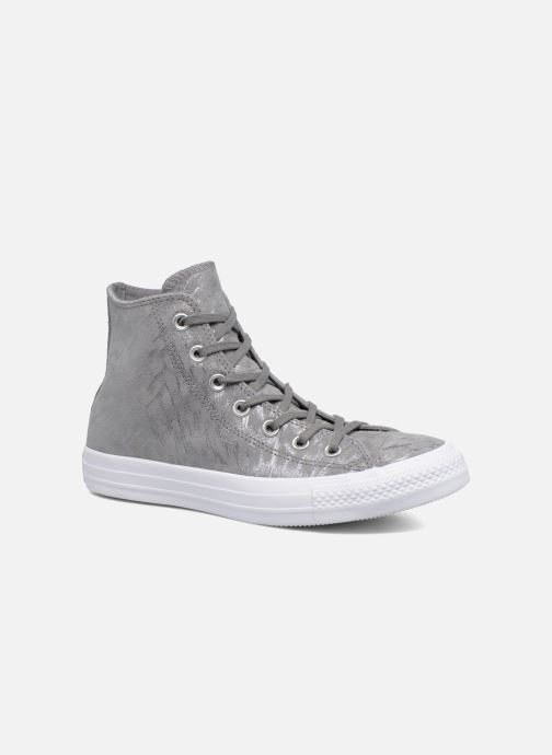 2ea1611149810 Sneaker Converse Chuck Taylor All Star Shimmer Suede Hi grau detaillierte  ansicht modell