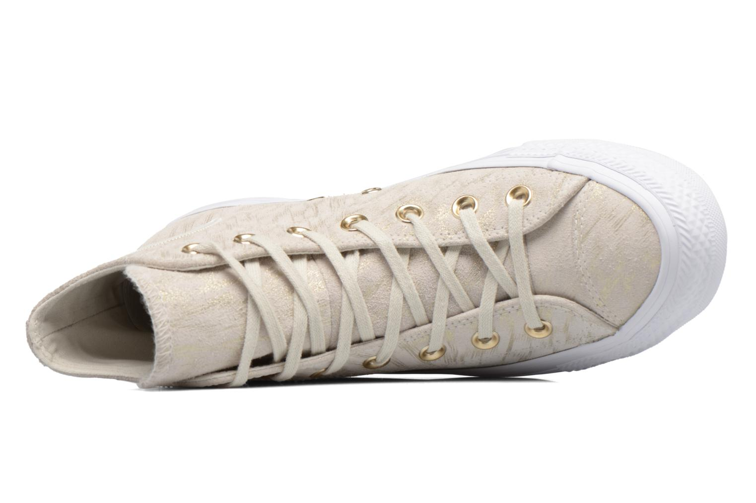 Sneakers Converse Chuck Taylor All Star Shimmer Suede Hi Beige links