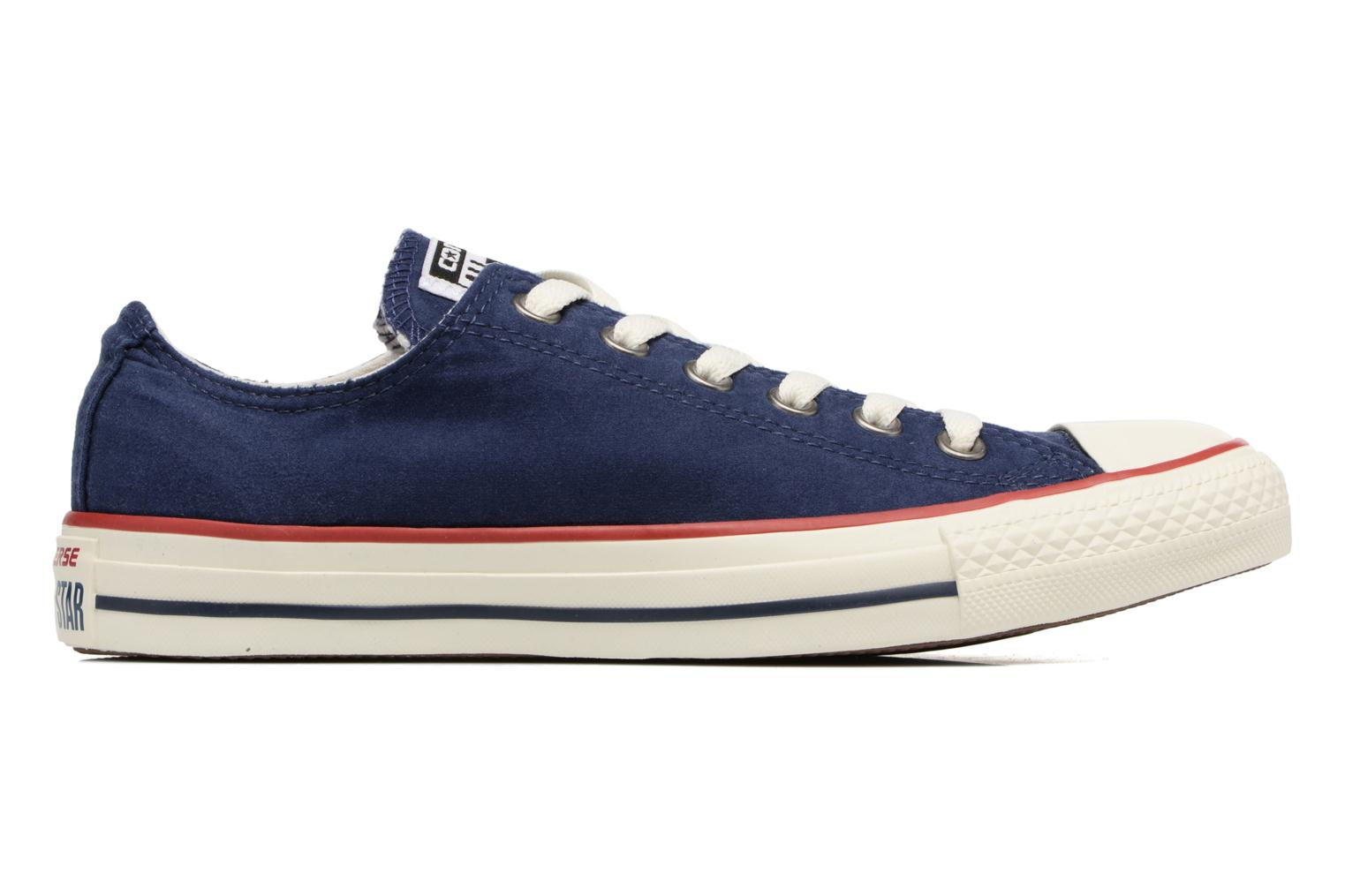 Baskets Converse Chuck Taylor All Star Ombre Wash Ox W Bleu vue droite