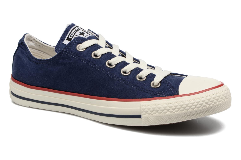 Deportivas Converse Chuck Taylor All Star Ombre Wash Ox W Azul vista de detalle / par