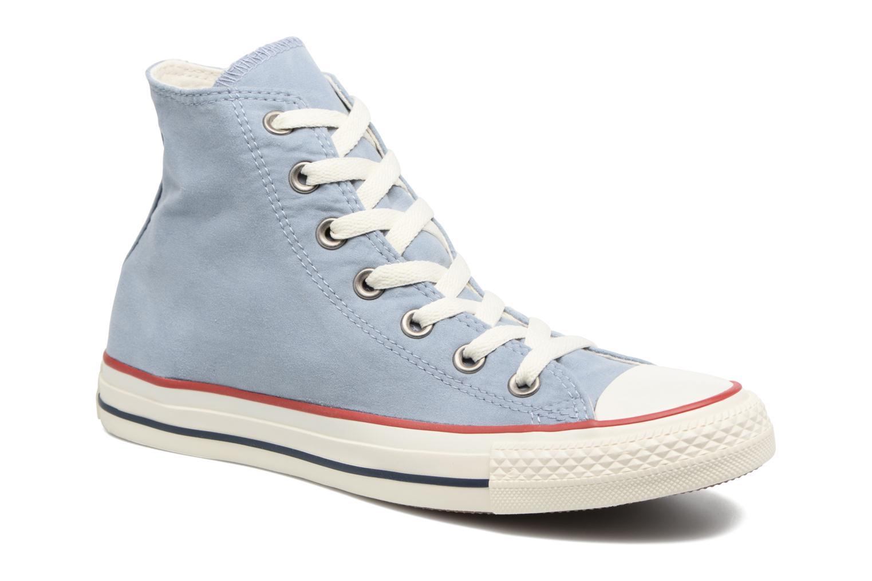 Baskets Converse Chuck Taylor All Star Ombre Wash Hi W Bleu vue détail/paire
