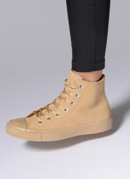 Converse Chuck Taylor All Star Mono Plush Suede Hi Sneakers