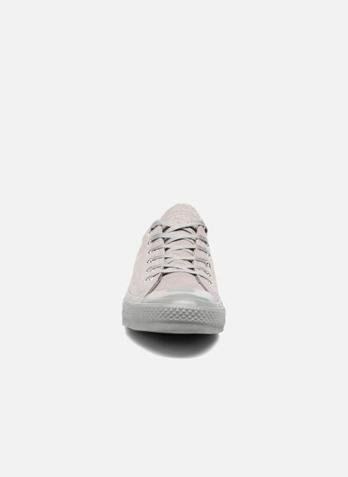 Sneakers Converse Chuck Taylor All Star Mono Plush Suede Ox Grijs model