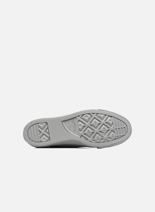 Sneakers Converse Chuck Taylor All Star Mono Plush Suede Ox Grijs boven
