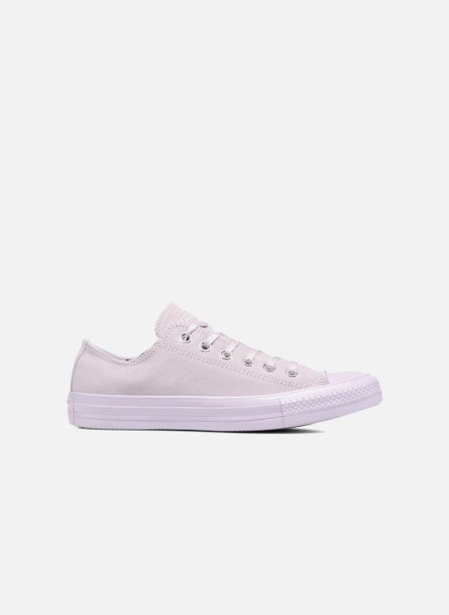 Sneakers Converse Chuck Taylor All Star Mono Plush Suede Ox Paars achterkant