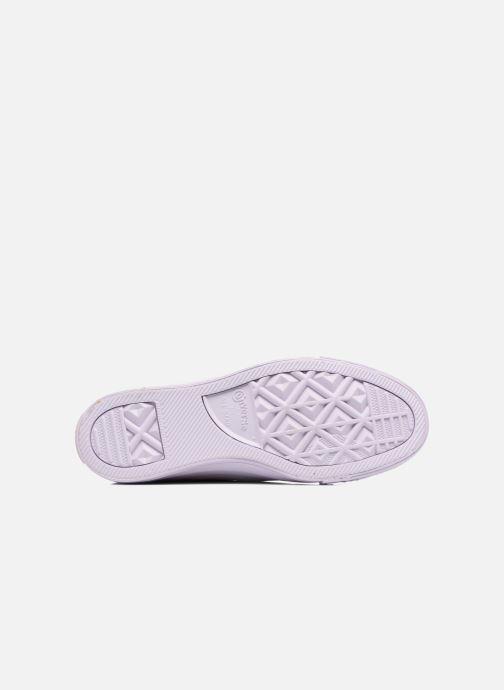 Sneakers Converse Chuck Taylor All Star Mono Plush Suede Ox Viola immagine dall'alto