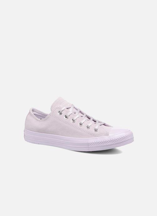 Sneakers Converse Chuck Taylor All Star Mono Plush Suede Ox Viola vedi dettaglio/paio