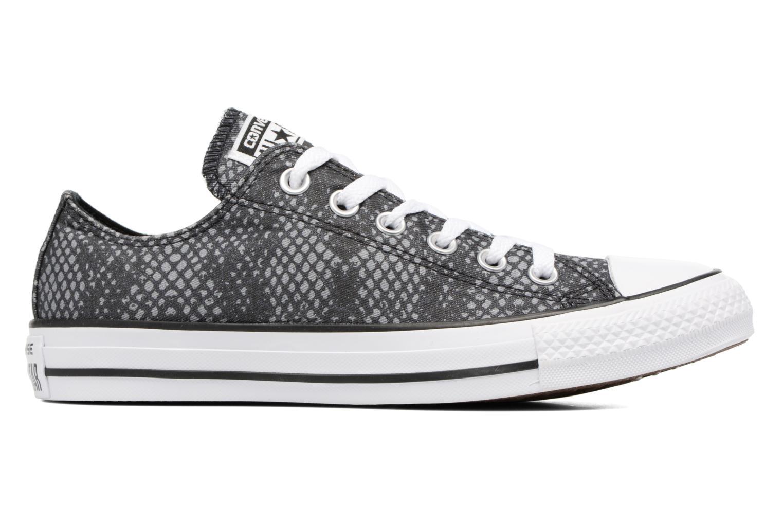 Sneakers Converse Chuck Taylor All Star Lurex Snake Ox Grijs achterkant