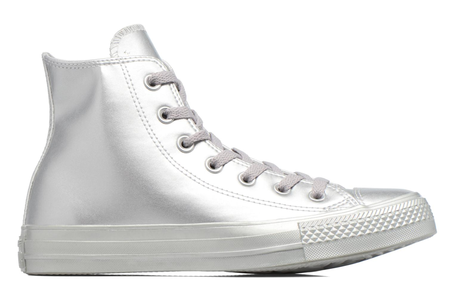 Baskets Converse Chuck Taylor All Star Liquid Metallic Hi Argent vue derrière