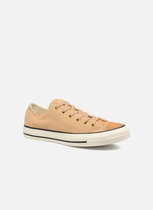 ba619f8d1bf Converse Chuck Taylor All Star Pony Hair Ox (Beige) - Sneakers chez ...