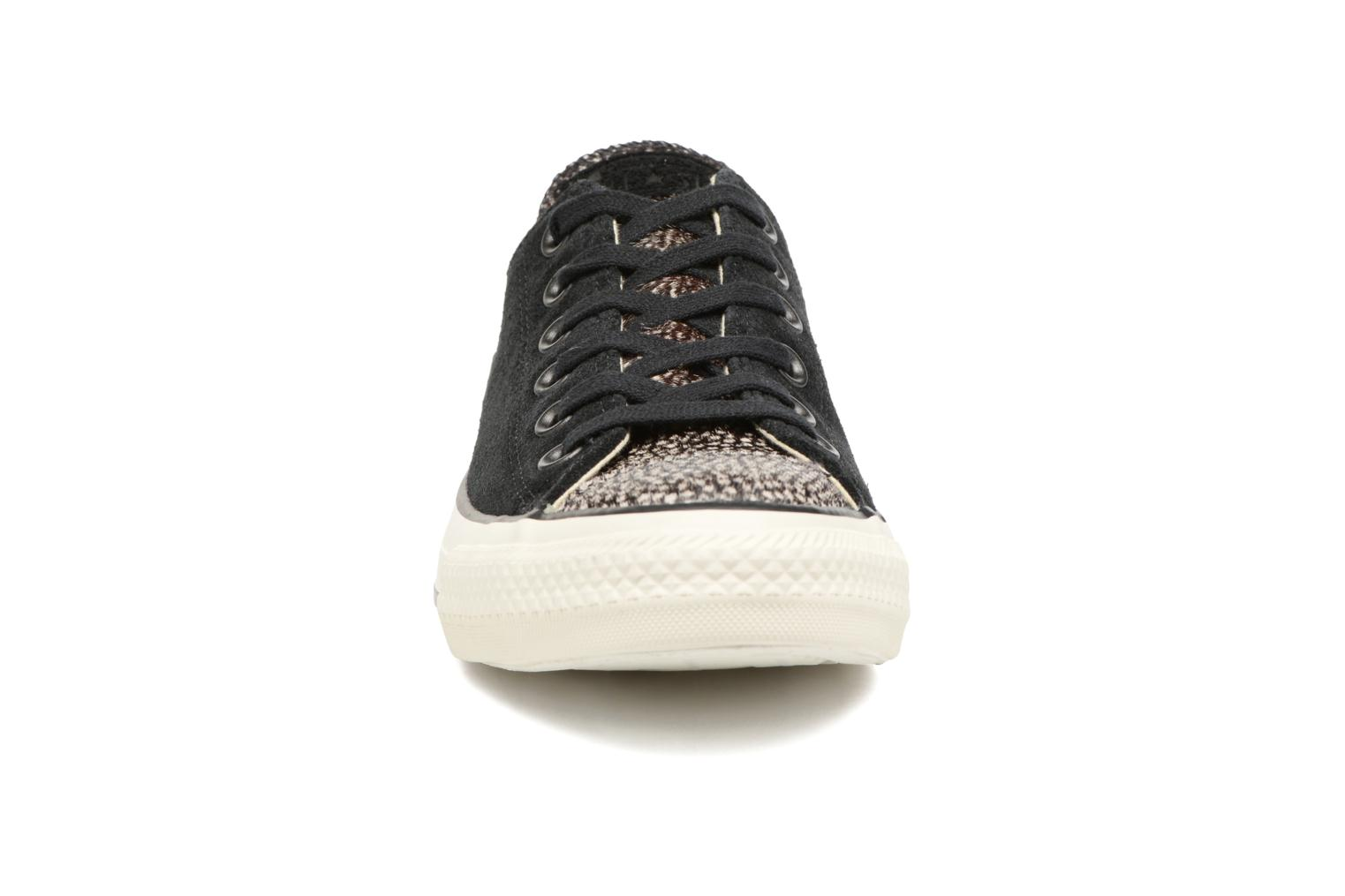 Sneakers Converse Chuck Taylor All Star Pony Hair Ox Zwart model