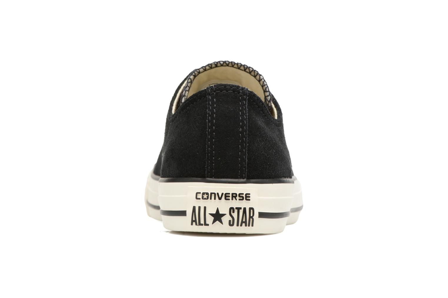 Trainers Converse Chuck Taylor All Star Pony Hair Ox Black view from the right