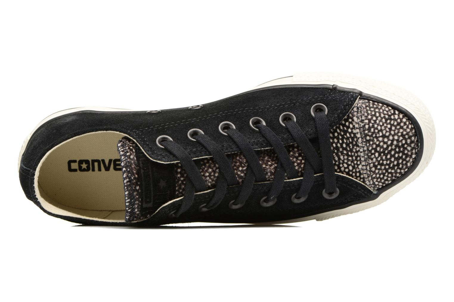 Trainers Converse Chuck Taylor All Star Pony Hair Ox Black view from the left