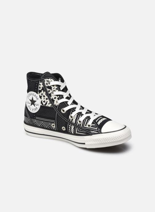 Baskets Converse Chuck Taylor All Star W Noir vue détail/paire
