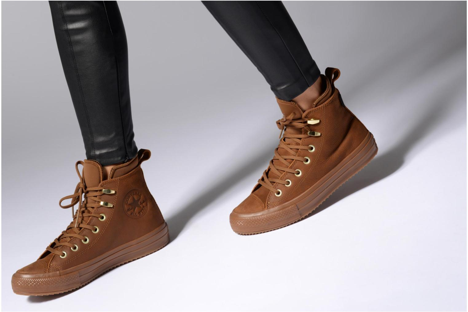 Trainers Converse Chuck Taylor WP Boot WP Nubuck Hi Blue view from underneath / model view