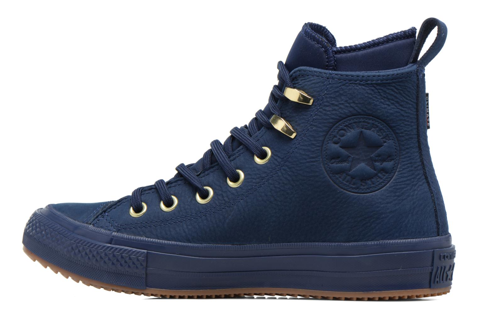 Trainers Converse Chuck Taylor WP Boot WP Nubuck Hi Blue front view