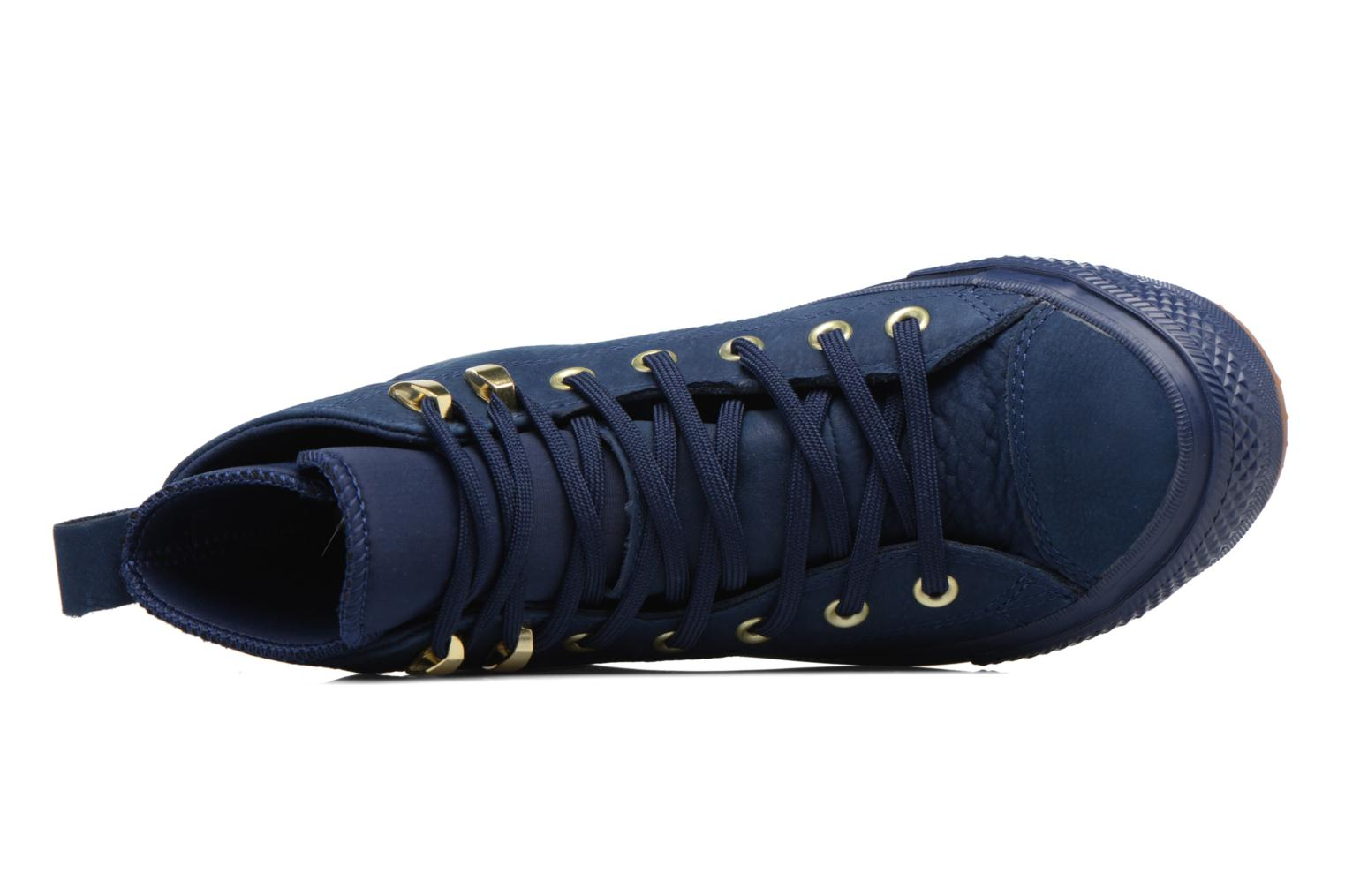 Trainers Converse Chuck Taylor WP Boot WP Nubuck Hi Blue view from the left