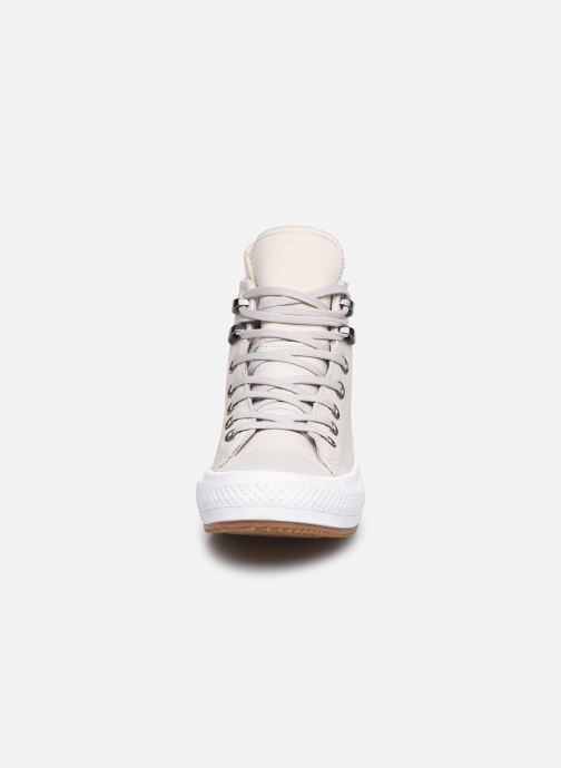 Trainers Converse Chuck Taylor WP Boot WP Leather Hi Grey model view