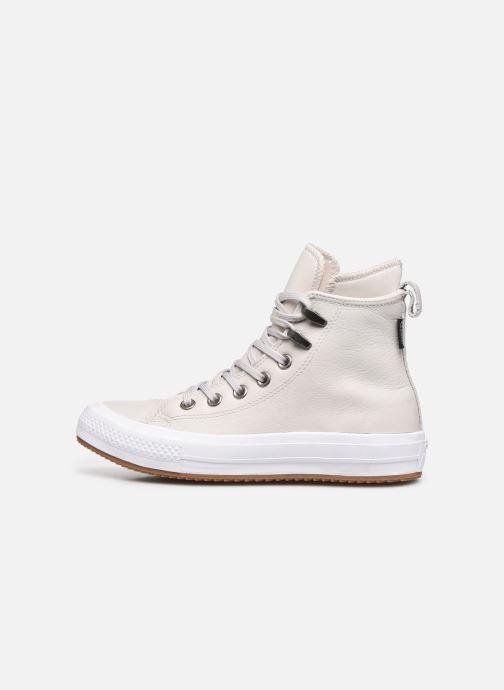 Baskets Converse Chuck Taylor WP Boot WP Leather Hi Gris vue face