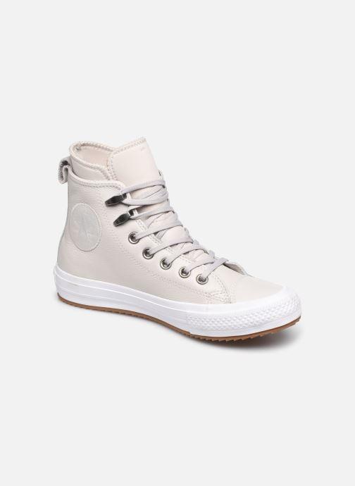 Baskets Converse Chuck Taylor WP Boot WP Leather Hi Gris vue détail/paire