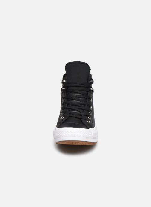 Baskets Converse Chuck Taylor WP Boot WP Leather Hi Noir vue portées chaussures
