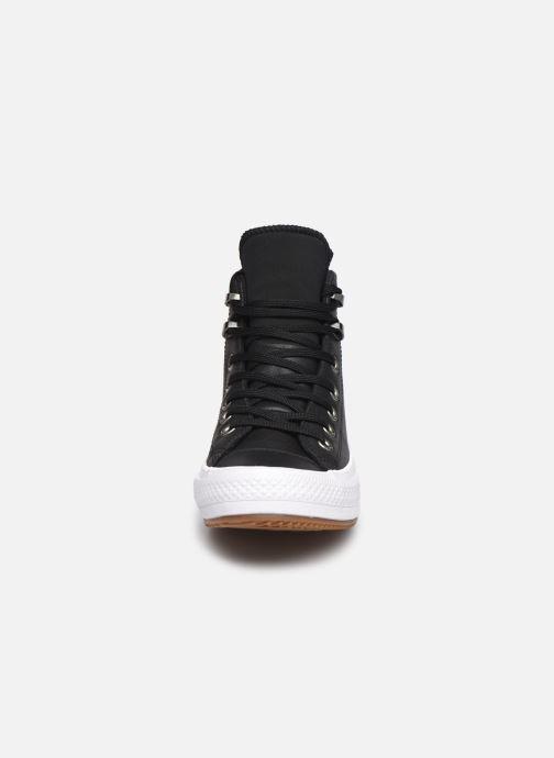 Sneaker Converse Chuck Taylor WP Boot WP Leather Hi schwarz schuhe getragen