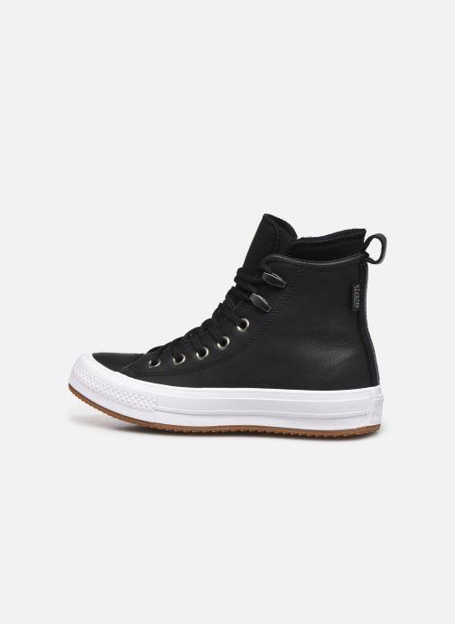 Sneaker Converse Chuck Taylor WP Boot WP Leather Hi schwarz ansicht von vorne