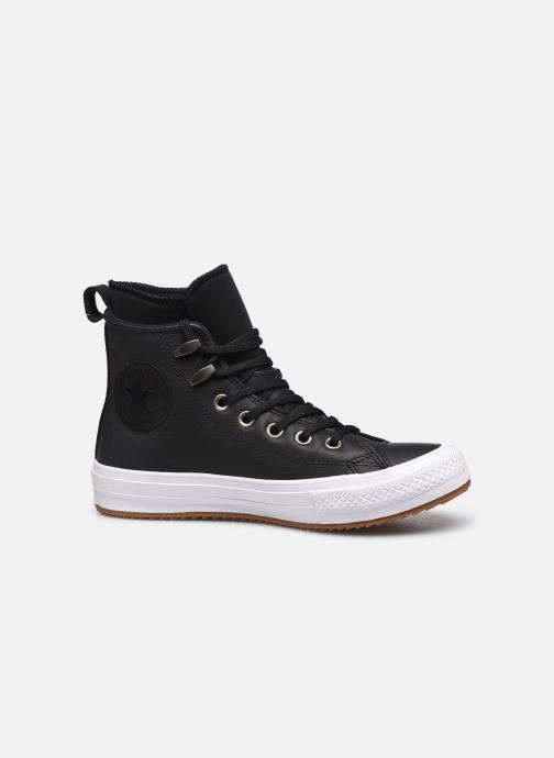 Sneaker Converse Chuck Taylor WP Boot WP Leather Hi schwarz ansicht von hinten
