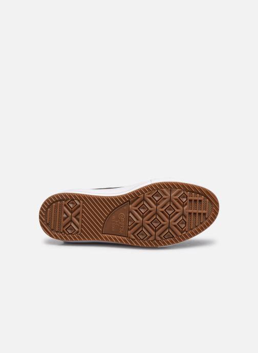 Sneaker Converse Chuck Taylor WP Boot WP Leather Hi schwarz ansicht von oben
