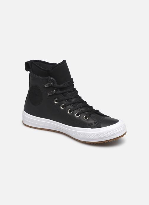 Baskets Converse Chuck Taylor WP Boot WP Leather Hi Noir vue détail/paire