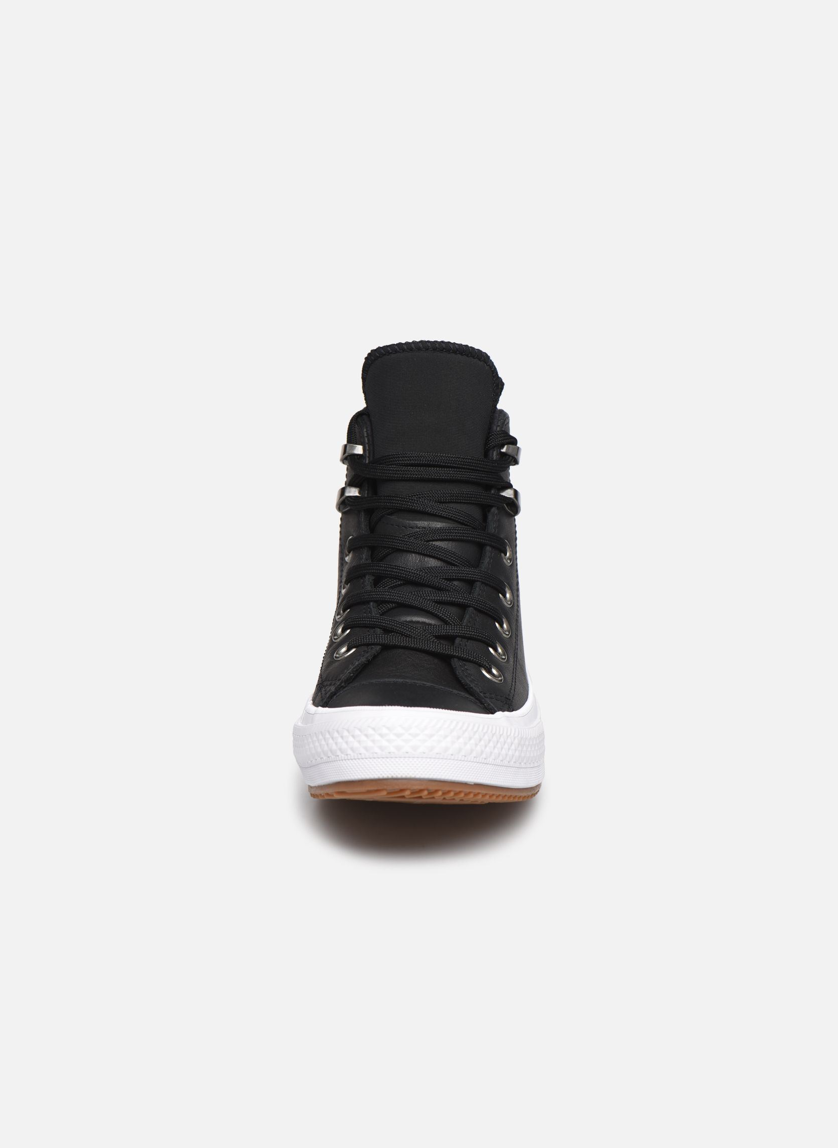 Deportivas Converse Chuck Taylor WP Boot WP Leather Hi Negro vista del modelo