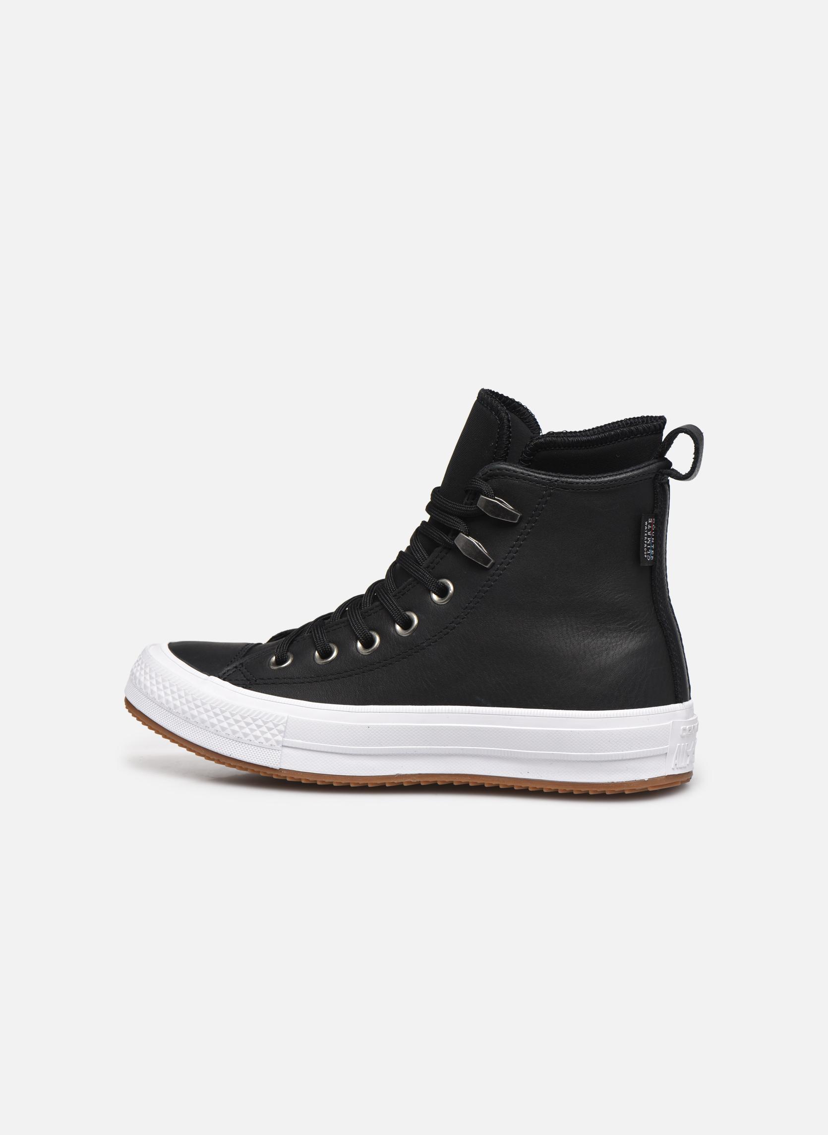 Deportivas Converse Chuck Taylor WP Boot WP Leather Hi Negro vista de frente