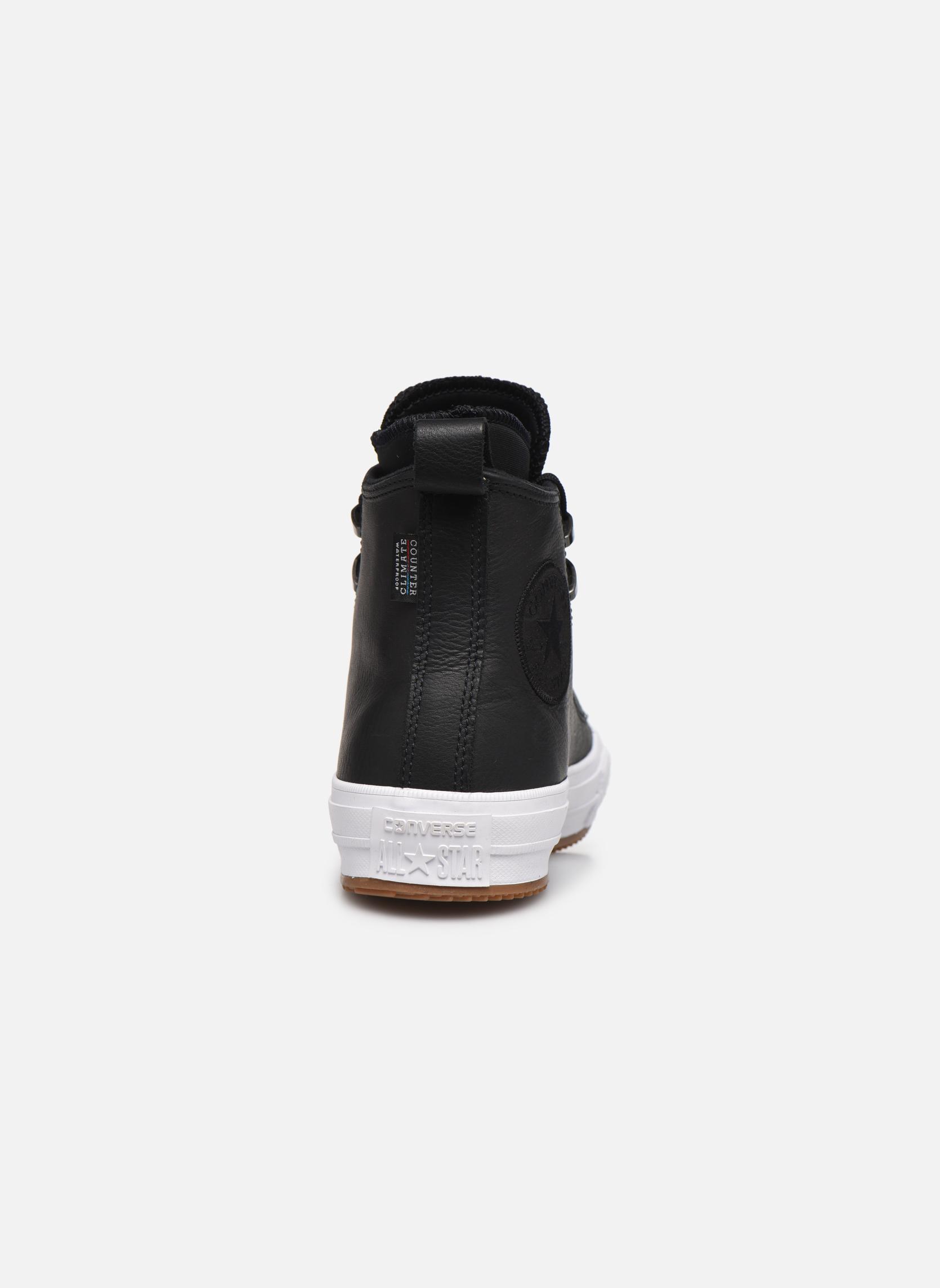Baskets Converse Chuck Taylor WP Boot WP Leather Hi Noir vue droite