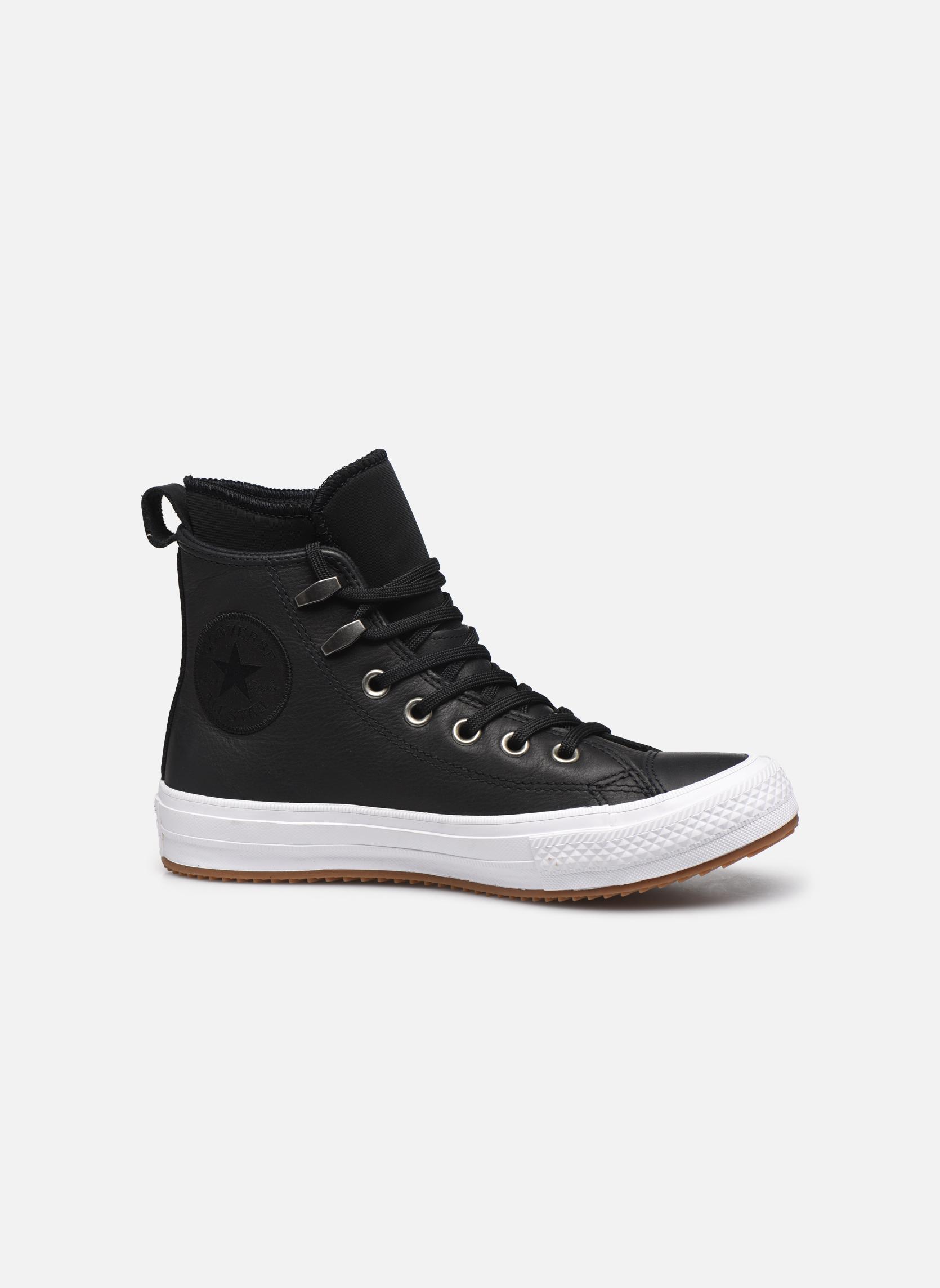Deportivas Converse Chuck Taylor WP Boot WP Leather Hi Negro vistra trasera