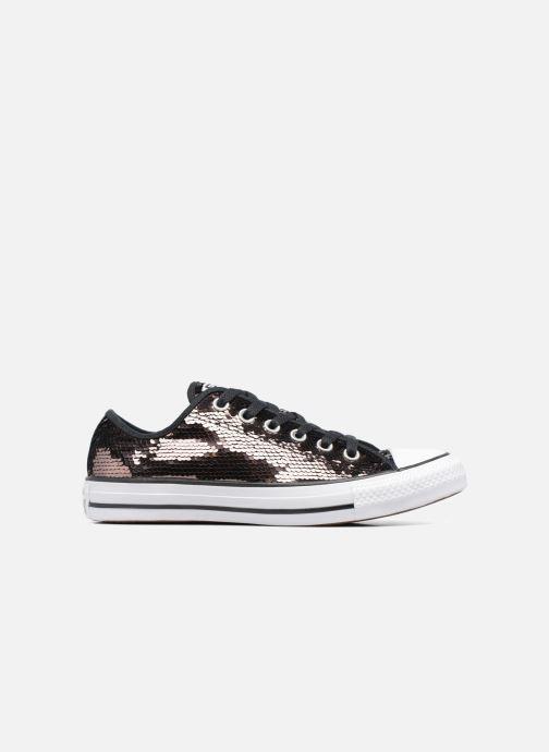 Sneaker Converse Chuck Taylor All Star Sequins Ox braun ansicht von rechts