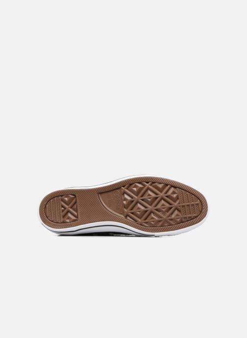 Sneaker Converse Chuck Taylor All Star Sequins Ox braun ansicht von oben