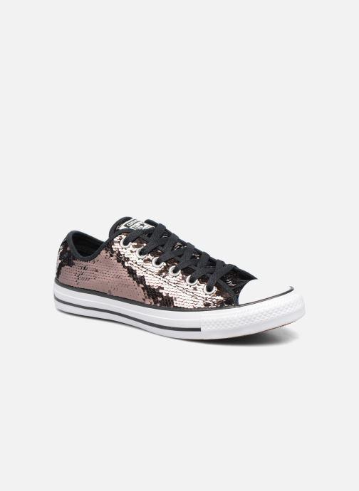 Sneaker Converse Chuck Taylor All Star Sequins Ox braun detaillierte ansicht/modell